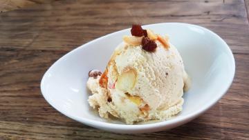 Bratapfel Eis