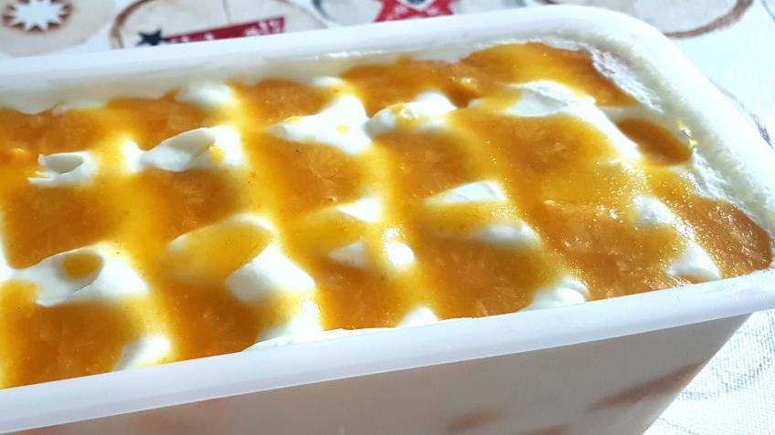 Joghurteis trifft Mango-Maracuja 2