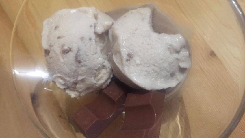 Kinderschokoladen Eis Rezept