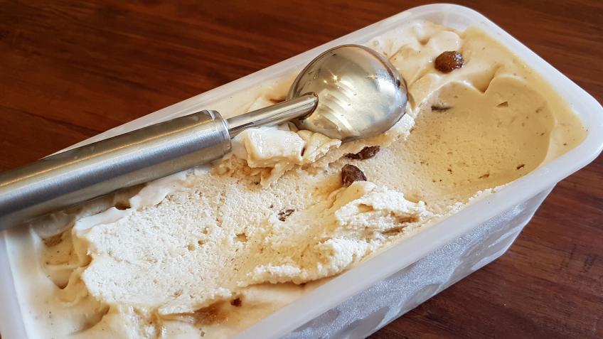 Malagaeis Rezept mit Eislöffel