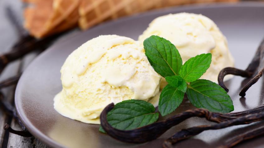 Vanilleeis Rezept ohne Zucker