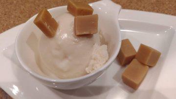 Karamelleis Eis Vanille-Karamell-Fudge
