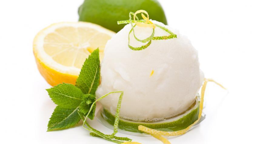 Zitronen-Sorbet Rezept