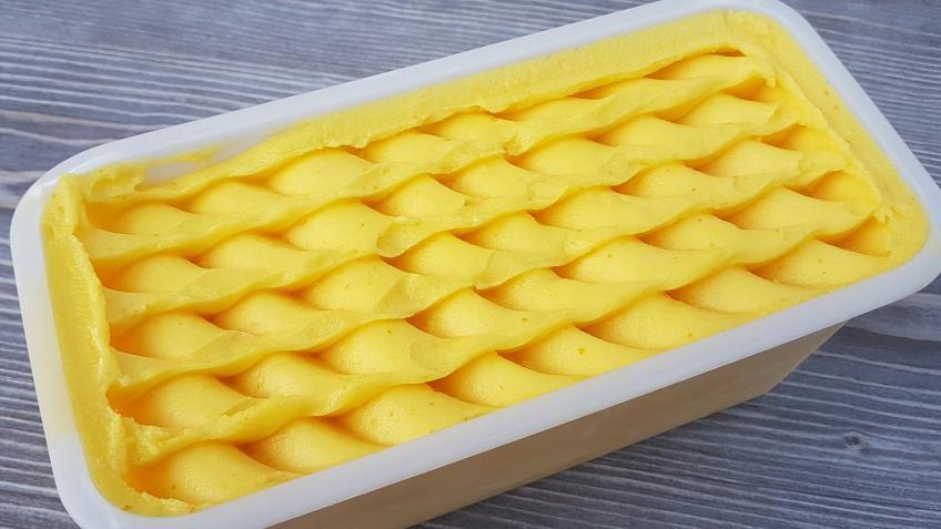 """Orangen-Sorbet Rezept 100 % Saftanteil """"super cremig"""" 1"""