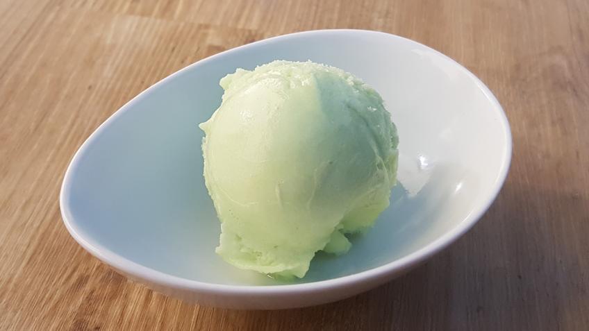 Grünes Waldmeister-Sorbet Rezept