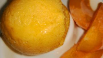 Aprikosen-Sorbet