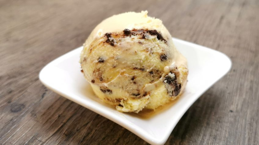 Cookie Eis mit Cookie-Variegato