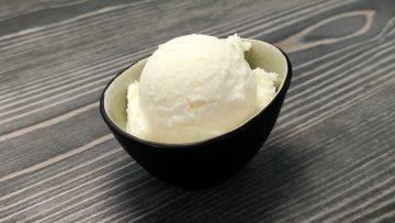 Joghurteis wie aus der Eisdiele